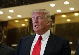Donald Trump, el presidente electo de Estados Unidos.(AFP).