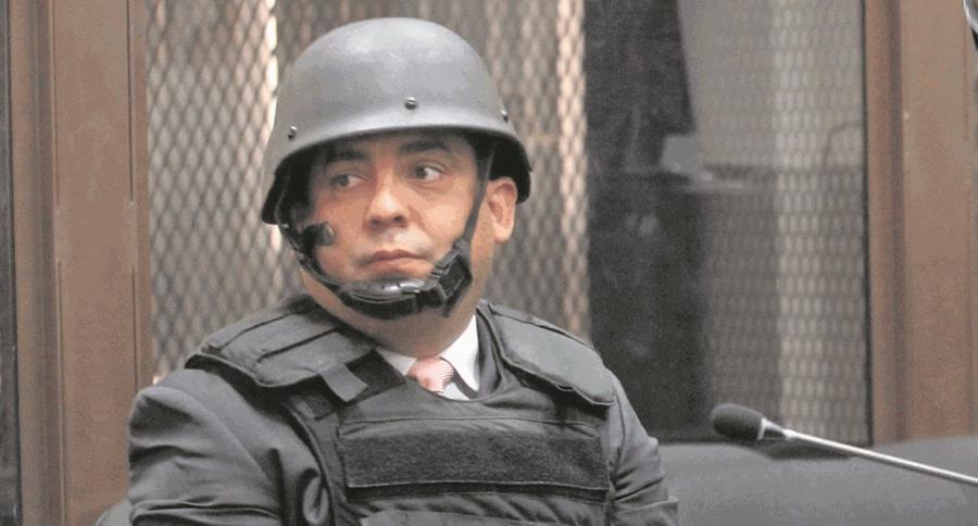 Sin la reducción de la pena,  Monzón Rojas podría cumplir hasta 31 años de cárcel. (Foto Prensa Libre: Hemeroteca PL)