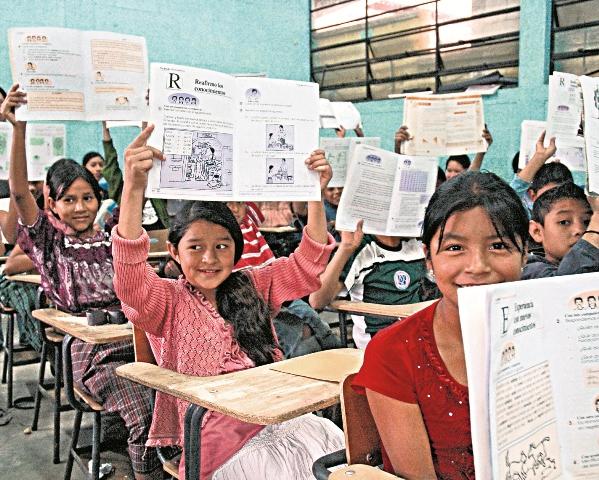 La preparación del docente influye en el fracaso escolar que se da en el primero primaria, según Mineduc (Foto Prensa Libre: Hemeroteca PL).