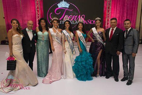 Cuatro finalistas del concurso: Valeria Portillo, primera finalista; Nathalie Stuhlhofer, Miss Teen Guatemala 2016; Estefanía Weller, Miss Petite Universe Guatemala 2016, y Melissa Prem, segunda finalista. (Foto Prensa Libre, tomada del Facebook de Miss Teen Guatemala)