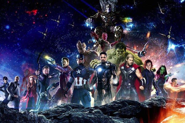 Avengers: Infinity War es una película que une a los personajes de Los Vengadores y Guardianes de la Galaxia. (Foto Prensa Libre: Internet).
