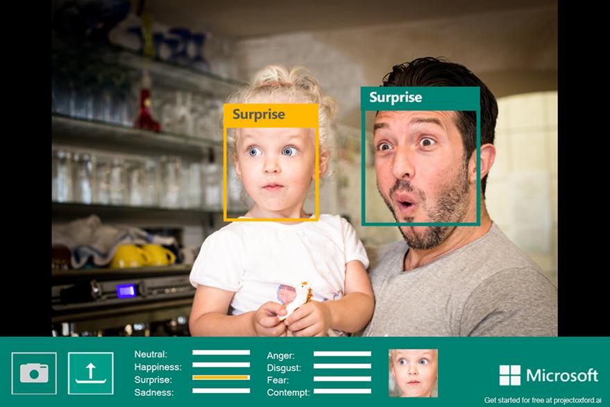 El Proyecto Oxford de Microsoft tiene una herramienta para identificar emociones en las fotos. (Foto Prensa Libre: blog de Microsoft).