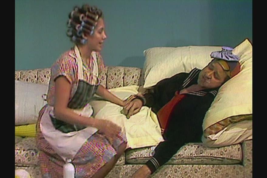 Florinda Meza (Doña Florinda) y Quico (Carlos Villagrán)tuvieron un romance, según María Antonieta de las Nieves.  (Foto Prensa Libre: Hemeroteca PL)