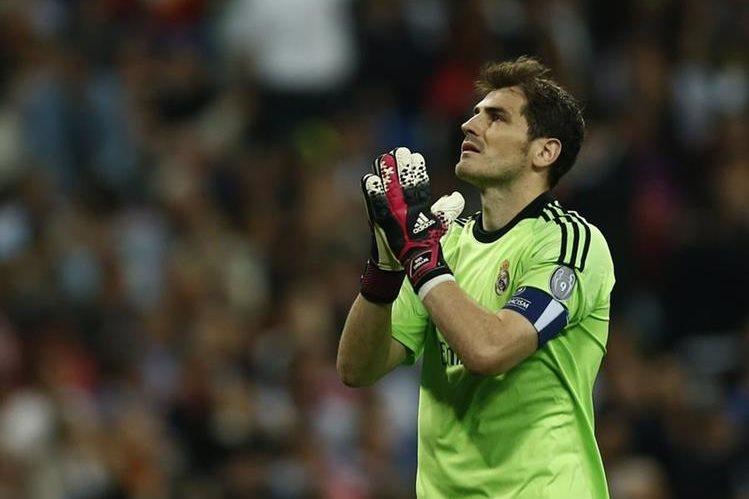 Iker Casillas denfendió con orgullo la portería del Real Madrid. (Foto Prensa Libre: Hemeroteca PL)