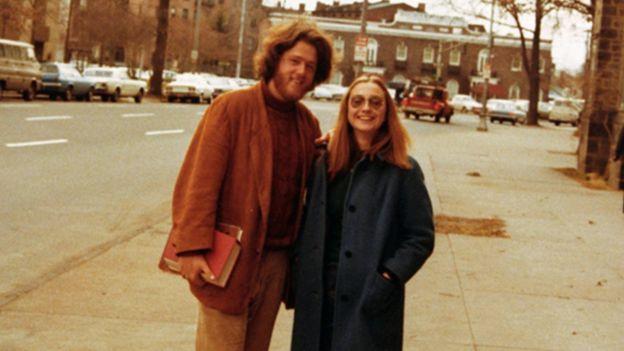 Bill Clinton y Hillary Rodham se conocieron en la Universidad de Yale. WILLIAM J. CLINTON PRESIDENTIAL LIBRARY
