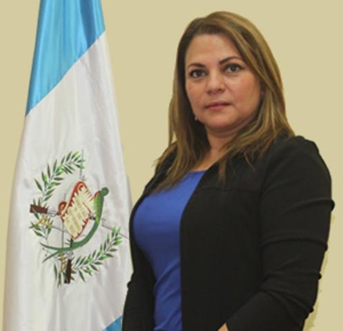 María Elena Orellana, renunció a su puesto como tercera viceministra de Prevención de la Violencia y el Delito. (Foto Prensa Libre: Mingob)