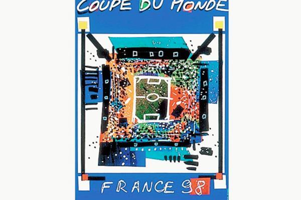 Cartel oficial del Mundial Francia '98. (Foto: Hemeroteca PL)