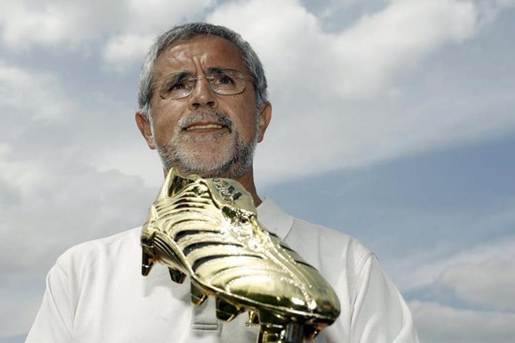 Gerd Müller ganó la bota de oro en 1970. (Foto Prensa Libre: AFP)
