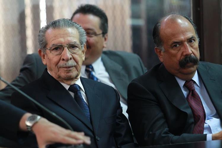 Efraín Ríos Montt está incapacitado mentalmente para afrontar un juicio, según una resolución emitida en julio del año pasado.(Foto Prensa Libre: Hemeroteca PL)