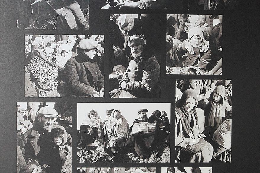Las fotografías de la muestra pertenecen a varios museos de renombre internacional.