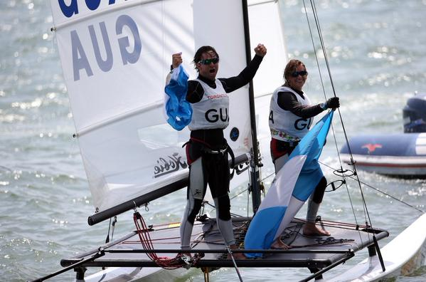 Jason Hess e Irene Abascal. (Foto Prensa Libre: Cortesía COG)
