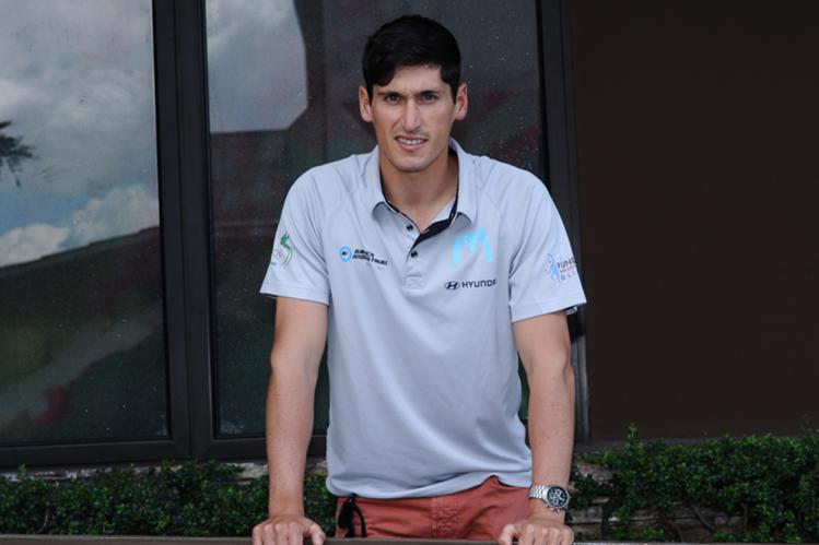 Juan Ignacio Maegli regresó a casa con la mente puesta en los Juegos Olímpicos de Tokio 2020. (Foto Prensa Libre: Francisco Sánchez)