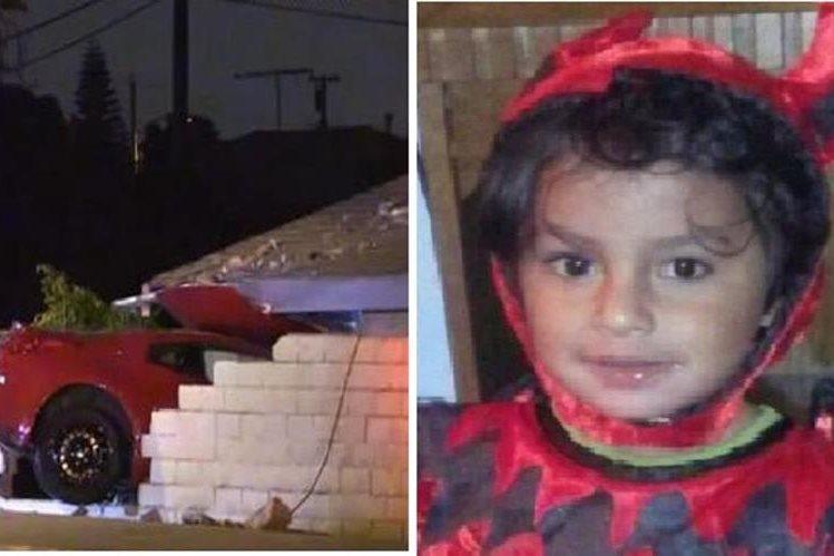 Un automóvil se estrelló contra una casa en Los Ángeles y un niño sobrevive.