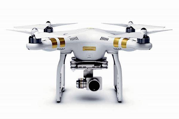 El Phantom 3 es un dron que puede grabar videos HD y 4K, según su versión.
