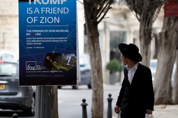 Trump también visitará Jerusalén. (Foto Prensa Libre: AFP)