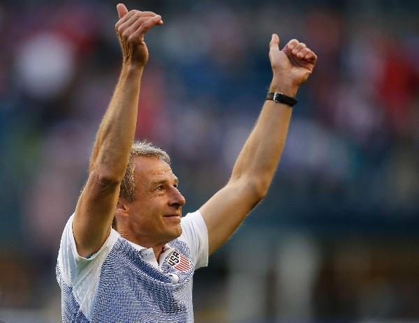 Jürgen Klinsmann no le teme a la Argentina de Messi, si llega a enfrentarla en semifinales de la Copa América. (Foto Prensa Libre: AFP)