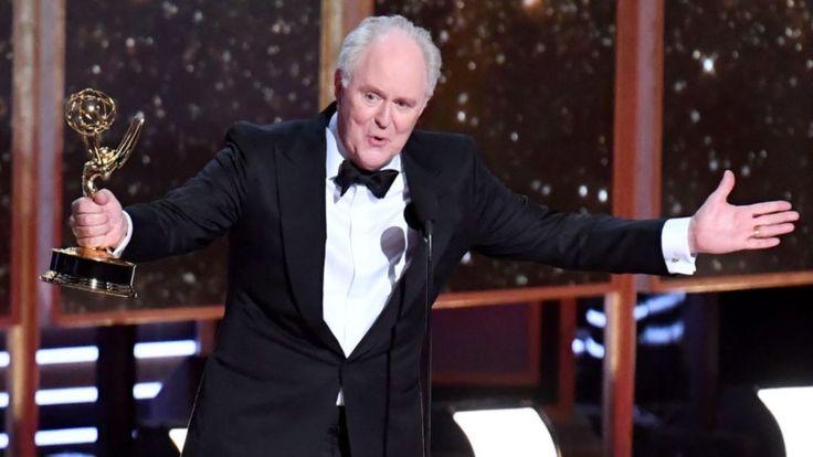 """John Lithgow recibió un Emmy el año pasado por su papel como Winston Churchill en """"The Crown"""". (Getty Images)."""