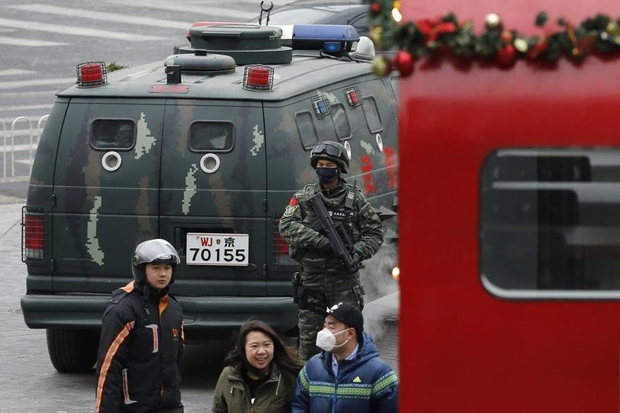 Hasta este domingo, China no tenía una legislación específica para la lucha contra el terrorismo. (Foto Prensa Libre: AP).