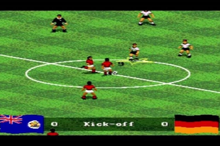 FIFA International Soccer fue el primero de la saga histórica de EA Sports (Foto Prensa Libre: YouTube).