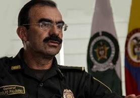 El director de la Policía de Colombia, general Rodolfo Palomino.