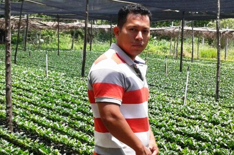 El cafetalero Rodolfo Trigueros Cortés, tenía 40 años. (Foto Prensa Libre: Mario Morales)