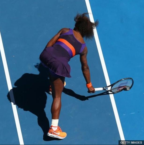 Stephens logró que Serena Williams perdiera el control durante su victoria en los cuartos de final de Australia en 2013. (Foto Prensa Libre: BBC Mundo)