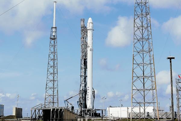 Plataforma de lanzamiento de la cápsula Dragon de SpaceX