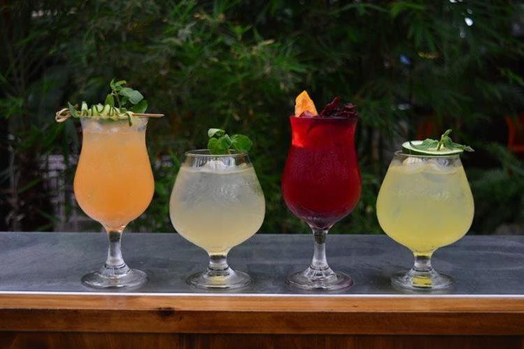 Siéntase como en Rusia con estos cuatro cócteles a base de vodka. (Foto Prensa Libre: Alejandro Ortiz).
