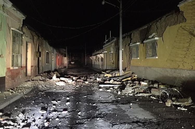 Por el momento en Quetzaltenango se han reportado los mayores daños.