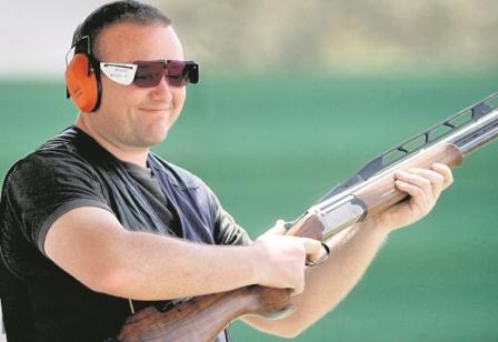 Enrique Brol, tirador guatemalteco, brilló en el Grand Prix de Chipre, torneo preparatorio para Río 2016. (Foto Prensa Libre: Hemeroteca PL).