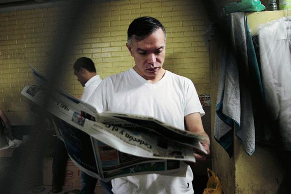 Juan de Dios Rodriguez, presidente de la junta directiva del IGSS, principal responsable de la contratación anómala. (Foto Prensa Libre: Érick Ávila).