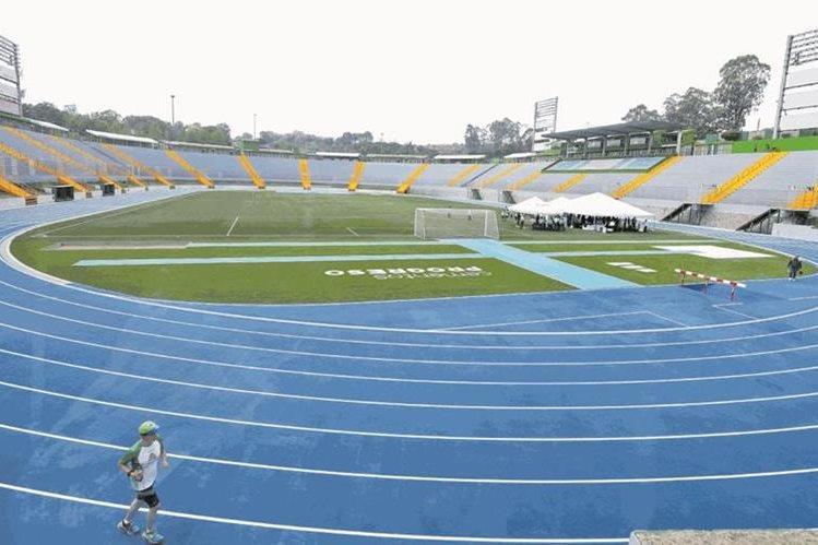 El estadio Cementos Progreso será de nuevo la casa de Comunicaciones a partir del Torneo Apertura 2018. (Foto Prensa Libre: Hemeroteca PL)