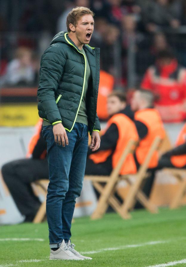 En el Hoffenheim temen que Nagelsmann sea tentado por equipos con mayor poder en el panorama futbolístico en Europa. (Foto Prensa Libre: Getty Images)