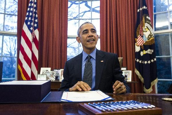 Barack Obama dejará la Casa Blanca el 20 de enero del 2017.