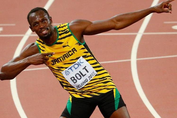 El velocista Usain Bolt fue incluído dentro de la delegación de Jamaica para los Juegos Olímpicos de Río de Janeiro. (Foto Prensa Libre: Hemeroteca)