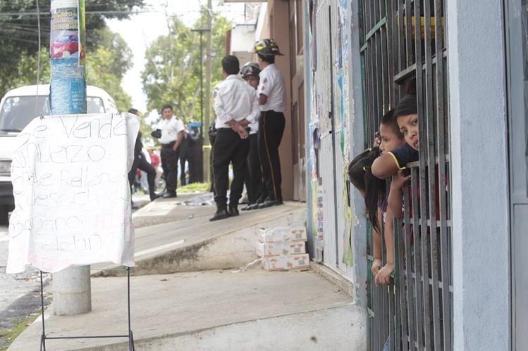 El guardia de seguridad privada Gerardo Pinto fue ultimado en la 13 avenida y 10 calle de la zona 2 el 17 de junio último. (Foto Prensa Libre: Hemeroteca PL)<br />