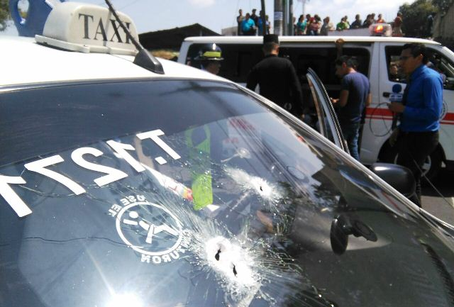 cinco conductores de taxis han sido ultimados en distintos hechos de violencia. (Foto Prensa Libre: Estuardo Paredes)
