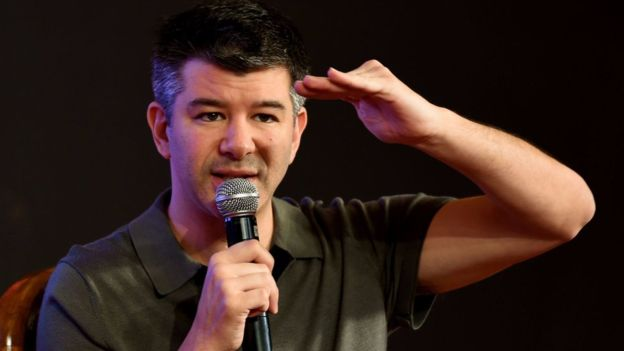 Uber fue fundada en 2009 por Travis Kalanick. (GETTY IMAGES)