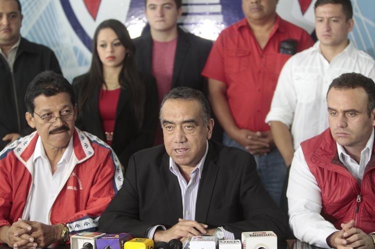 Jaime Mart'nez Lohayza es uno de los que no podría asumir debido al antejuicio que hay en su contra. (Foto Prensa Libre: Hemeroteca PL)