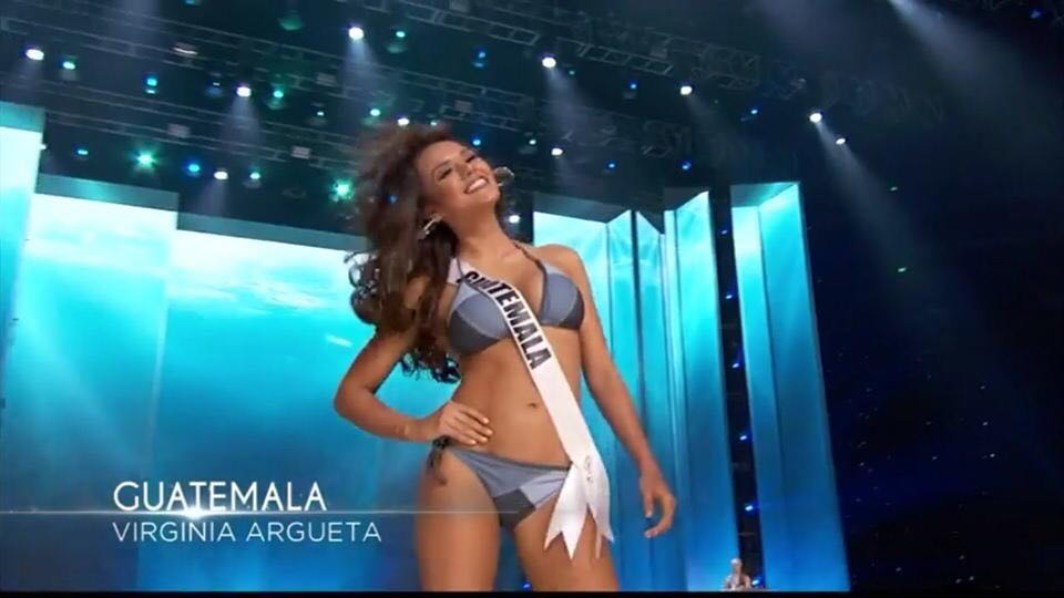 Virginia Argueta quiere la corona para Guatemala. (Foto Prensa Libre: Tomada de facebook.com/OfficialMissGuatemala)