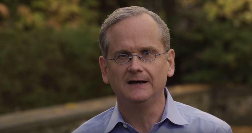 Lawrence Lessig, profesor de Derecho de la Universidad de Harvard.(Foto: captura Youtube).