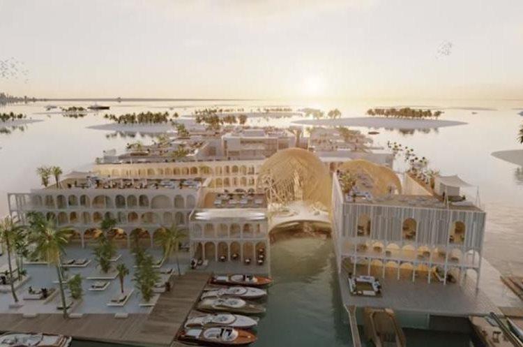 El complejo Venice Floating comenzará a ser construido el próximo año. (Foto Prensa Libre: The Heart Of Europe / YouTube)