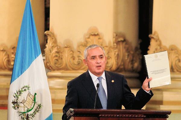 El secretario de Estado John Kerry, se mostró complacido por la decisión del presidente Otto Pérez Molina de renovar el mandato de la Cicig. (Foto Prensa Libre: E. Bercian)