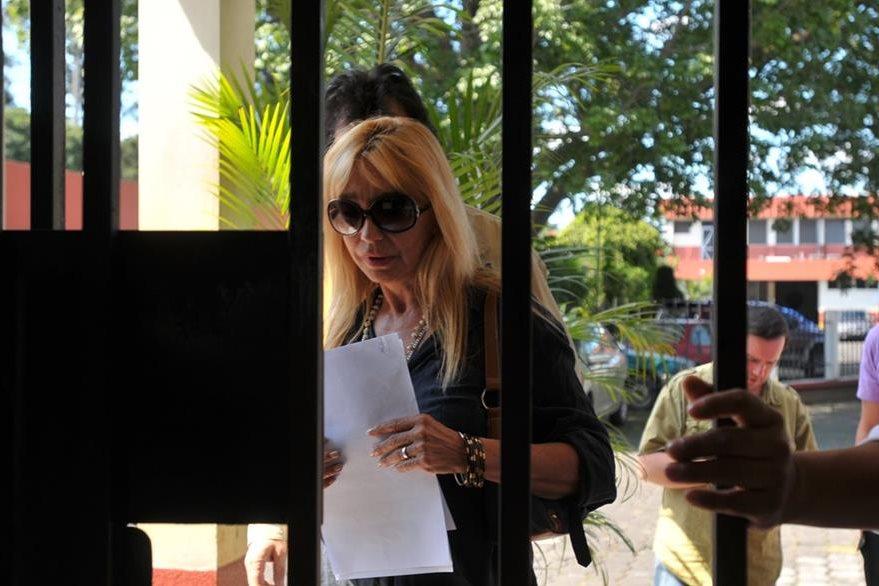 Concepción García, mánager del grupo, se encargó de realizar los trámites en el Inacif. (Foto Prensa Libre: Ana Lucía Ola)