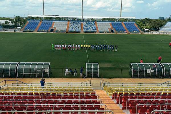 Guatemala cayó ante Canadá por 1-0 en el Lockhart Stadium de Fort Lauderdale Florida (Foto Prensa Libre: Deporte Total USA)