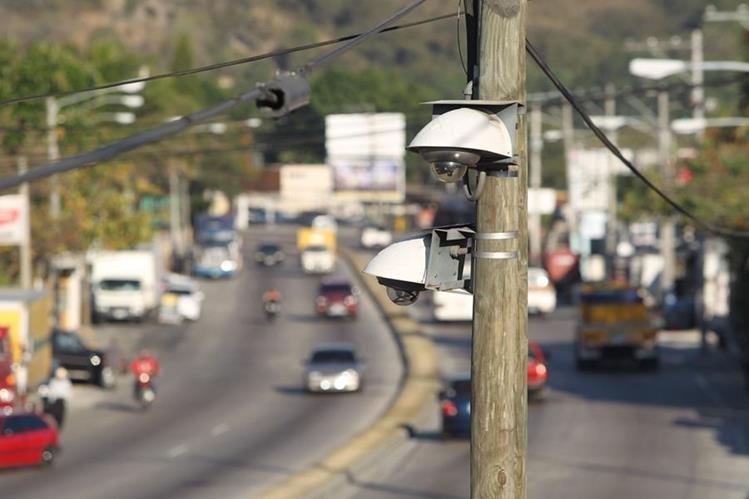La falta de videovigilancia impacta en la investigación e inteligencia, por ser una herramienta tecnológica que ha tomado auge. (Foto Prensa Libre: Hemeroteca PL)