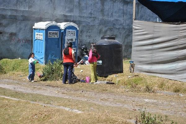 La escasez  de agua empeora la  situación de los damnificados en San Marcos por el  terremoto del 7 de noviembre último.