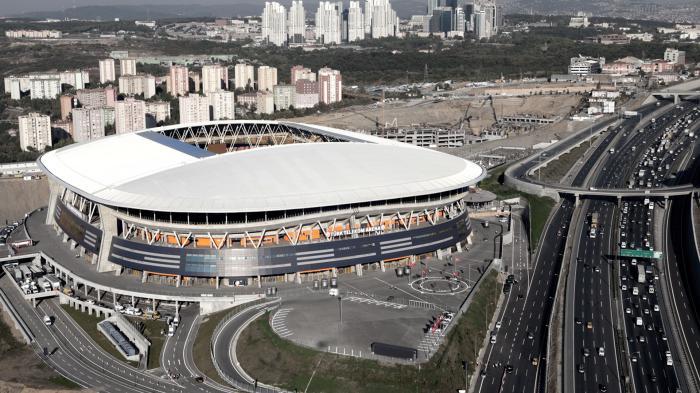 """El """"templo del futbol turco"""" dejará de llamarse Türk Telekom. (Foto Prensa Libre: Hemeroteca)"""