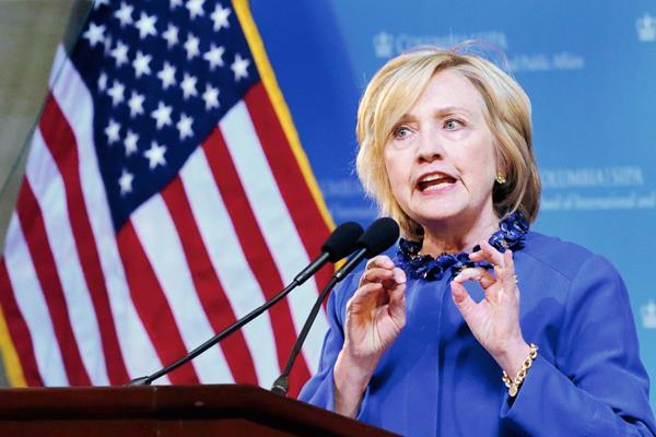 Hillary Clinton, aspirante demócrata a la Presidencia de EE. UU. de 2016, (Foto prensa Libre:AP)