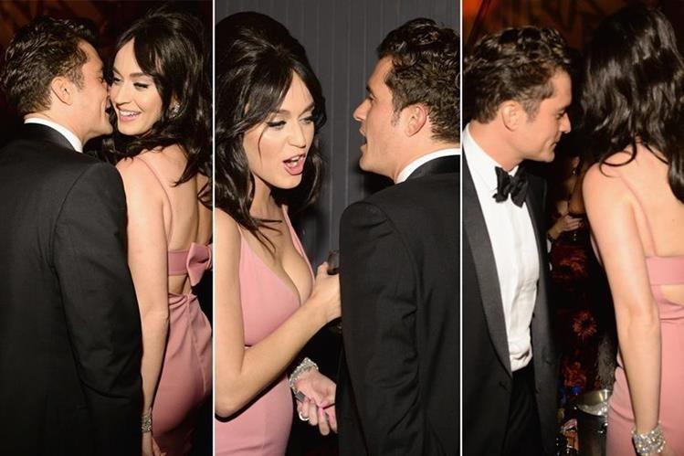 Perry y Bloom han estado saliendo desde principios de 2016, y en la entrega de los premios Globo de Oro se les vio muy cariñosos. (Foto Prensa Libre: media.vanityfair.com)